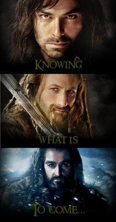 Kili, Fili, Thorin