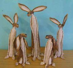 Hares by JJ Vincent