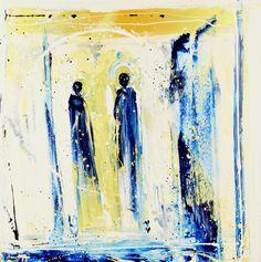 The Meeting 36x36 Art World, Art Gallery, Lisa, Artist, Painting, Art Museum, Artists, Painting Art, Paintings