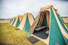 Boho Village 2 person tent package waiting for the arrival of its guests:)