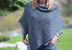 Haust = poncho! 9 flotte strikkeoppskrifter – Kladdebok for Linda