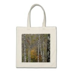 Autumn Landscape Budget Tote - photography gifts diy custom unique special
