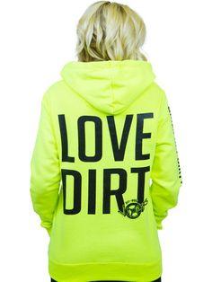 LOVE DIRT Zip   OFF-ROAD VIXENS CLOTHING CO.   #girlsgetdirtytoo #offroadvixens