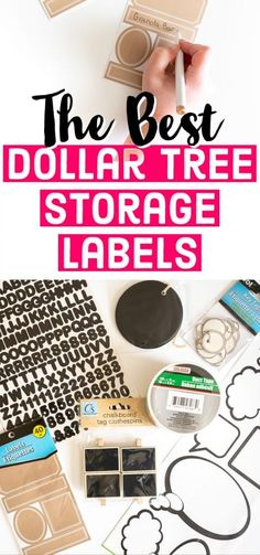 Home Organization   Storage Ideas   Storage Labels   Cheap Organizing Ideas   Dollar Tree Storage Solutions Spice Jar Labels, Bin Labels, Pantry Labels, Storage Bins, Storage Solutions, Storage Ideas, Budget Organization, Organizing Ideas