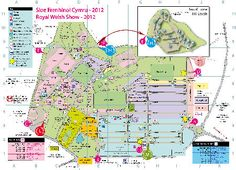 Dyma'r map o faes y sioe 2012 // Here's the 2012 map for the Show.     http://s4c.co.uk/sioe