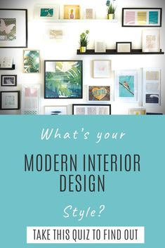Take this quiz to find out what your Modern interior design style is! Whether it be: Modern Farmhouse, Mountain, California or another modern decor style. Eclectic Decor, Modern Decor, Modern Design, Eclectic Modern, Modern Bohemian, Decorating Your Home, Interior Decorating, Interior Designing, Decorating Tips