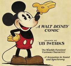 Mickey by Ub Iwerks