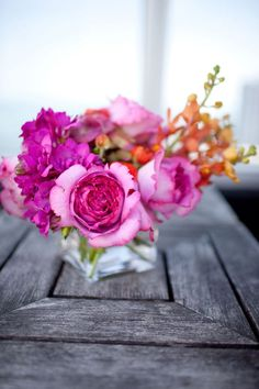 Flores no centro das atenções