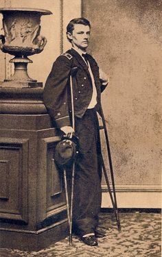 Robley Evans After the Battle of Fort Fisher 1865 by Piedmont Fossil, via Flickr