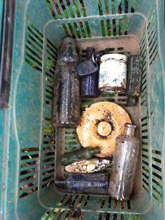 Basket of finds