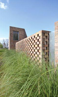 16 Detalles constructivos de aparejo de ladrillos,© Franco Piccini