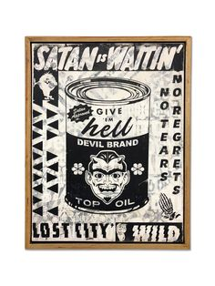 Duffy Leg is a contemporary American artist. The artwork is rooted in skateboarding, street art, hot rods, Americana, mo. Rock Posters, Duffy, Wood Paneling, American Artists, Skateboarding, Satan, Hot Rods, Street Art, Sculpture