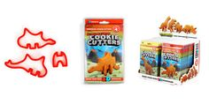Amazing cookie cutters for kids. Get them baking and having fun at the same time. Make dinosaur cookies. Dinosaur Cookie Cutters, Dinosaur Cookies, Tyrannosaurus Rex, Cool Gadgets, Dinosaurs, Yummy Treats, Have Fun, Shapes, Baking