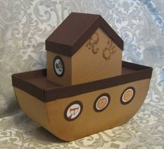 Noah's ark gift box by lpratt - Cards and Paper Crafts at Splitcoaststampers