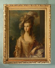 """""""The Hon. Mary Cathcart, The Hon. Mrs Thomas Graham"""", after Thomas Gainsborough, ca. 1780  National Trust (Hill Top) 642001"""