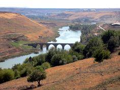 Tigris River At Diyarbakir.