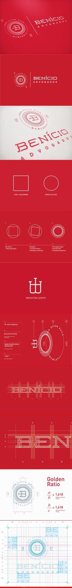 Benício Lawyers | #logo #design Costruction