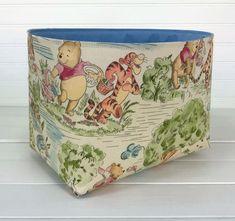 Pink Flower Photos, Winnie The Pooh Nursery, Fabric Storage Baskets, Peanuts Christmas, Baby Nursery Decor, Classic, Organizer Bins, Etsy, Children's Books