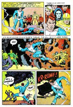 noman comic | Thunder Agents #7 - Wally Wood
