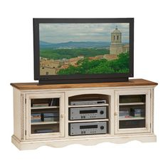 I pinned this Large Norfolk Media Console from the Rustic Revival event at Joss and Main!