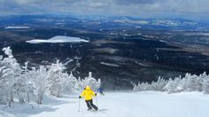 Saddleback Mountain Skiing--what a view! http://visitmaine.net/page/77/maine-ski-areas