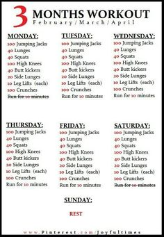 Exercise / 3 month workout plan do this three months before wedding if not already going to the gym Fitness Workouts, Fitness Motivation, Easy Workouts, Fitness Diet, Health Fitness, Fitness Weightloss, Fitness Quotes, Workout Exercises, Fitness Goals
