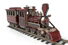 Schools For Woodworking - Woodworking Finest Wooden Toy Train, Wooden Toy Trucks, Wooden Toys, Learn Woodworking, Woodworking Plans, Electric Hand Drill, Old Steam Train, Wood Toys Plans, Wooden Rabbit