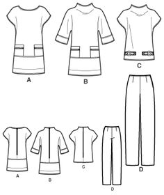 №9/2010 Simplicity 2568 Line Drawing