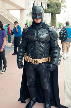 Os melhores cosplays da Comic-Con 2012: Batman.