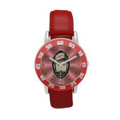 BadGirls gold silhouette young lady Bottom logo Wristwatch