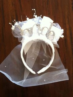 Bride Headband. $30.00, via Etsy.