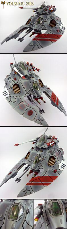 Eldar Falcon Gravtank.