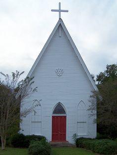 Grace Episcopal Church, circa 1875, Clayton, Alabama