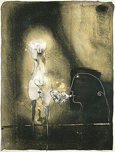 notturno-vedere:  Paul Wunderlich.
