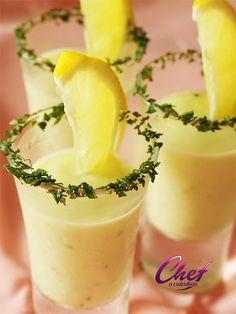 Hideg citromos tök krémleves recept - Tök receptek