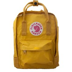 A backpack for kids - the Kanken Mini | Fjallraven (3,060 DOP) ❤ liked on Polyvore featuring bags and backpack