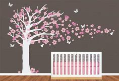 Hey, I found this really awesome Etsy listing at https://www.etsy.com/listing/190432998/vinyl-wall-decal-nursery-tree-decals