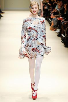 Floral beauty at Cacharel A/W.