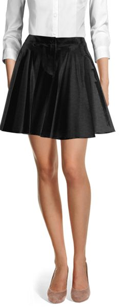 Customized by you, and made to fit your unique measurements Velvet Skirt, Casual Skirts, Flare Skirt, Black Velvet, Suits For Women, Skater Skirt, High Waisted Skirt, Mini Skirts, Shirt Dress