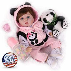 Newborn Baby Dolls, Baby Girl Toys, Reborn Baby Girl, Reborn Babies, Toys For Girls, Lifelike Dolls, Toddler Dolls, Reborn Dolls, Girl Dolls