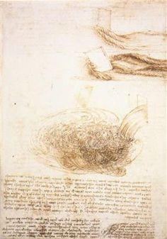Studies of water - Leonardo da Vinci