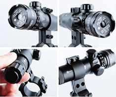 Hunting Outdoor Tactical Red Green Dot Sight Multi Reticle 4 Reticle Reflex Rifle Scope 1x22x33 Hunting Airsoft Optical Rail Green Laser Light *** Click image to review more details. (This is an affiliate link) #AirGunsAccessories