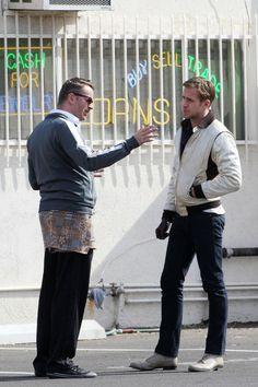 Nicolas Winding Refn with Ryan Gosling - Drive