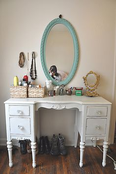 This story describes a Vanity Makeover, loved it.