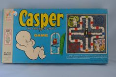 Vintage Casper The Friendly Ghost Board Game by FloridaFinders