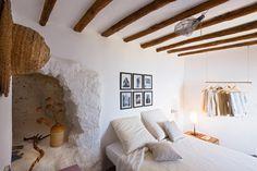 Bedroom in Fabio House in Filicudi, Sicily | Photo by Adriano Bacchella