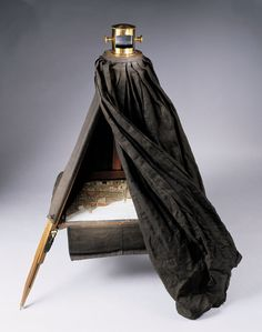 Camera Obscura - The dark chamber is nowsaday regarded as the direct forerunner of the photographic camera