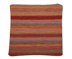 Funda de cojín kilim de lana y algodón Afsâna - 50x50 cm