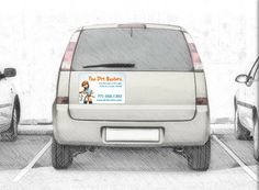 Car Door Magnets Large Smart Kidzzz Printing Pinterest - Custom car magnets large