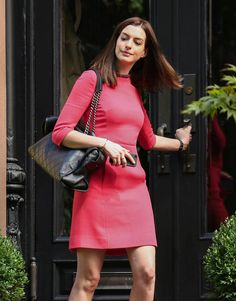 What do you think about Anne Hathaway's new look for her upcoming movie?